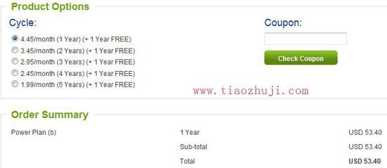 webhostingpad主机免费1年