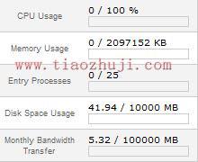 webhostingpad主机的无限空间、无限流量